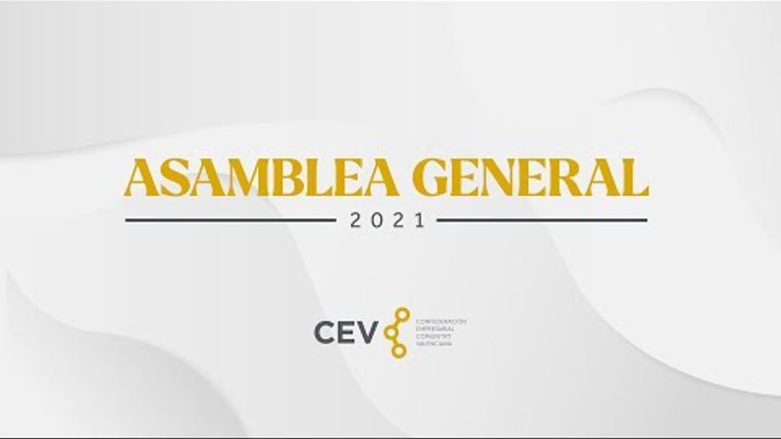 Clausura Asamblea General CEV