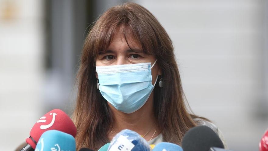 """Borràs acusa al Gobierno de querer """"centralizar el mérito"""" de la vacunación"""