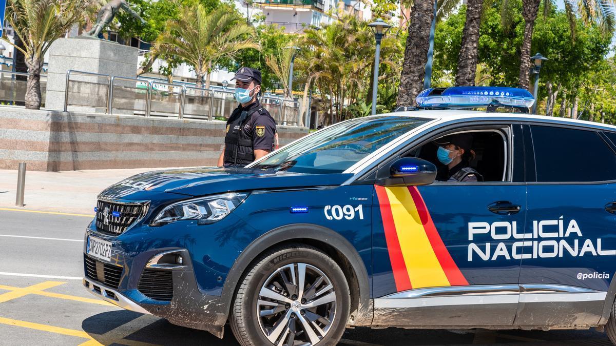La Policía Nacional se ha hecho cargo de las diligencias.