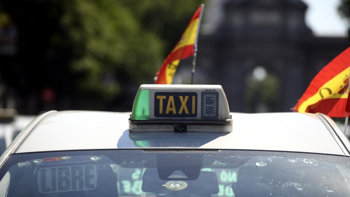 Taxi de Madrid.
