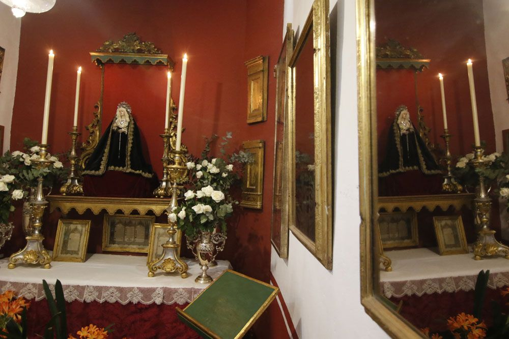 Patio iglesia de San Rafael