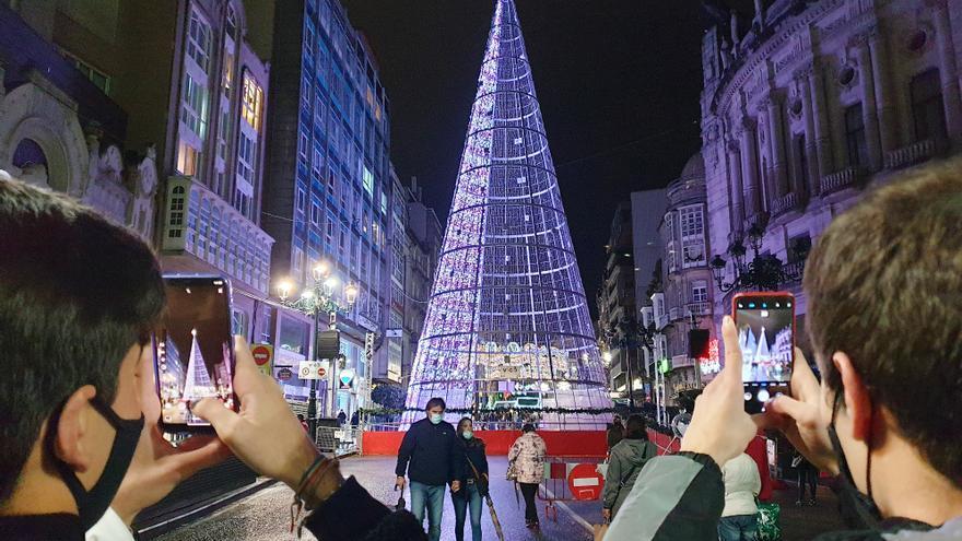 El encendido de las luces de Navidad en Vigo ya tiene fecha