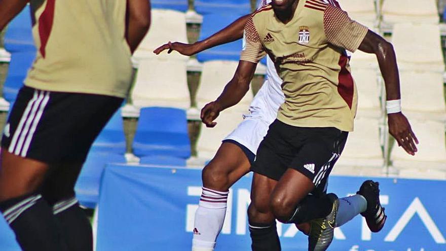 Boateng y Tejera dejan detalles en el primer amistoso del Cartagena