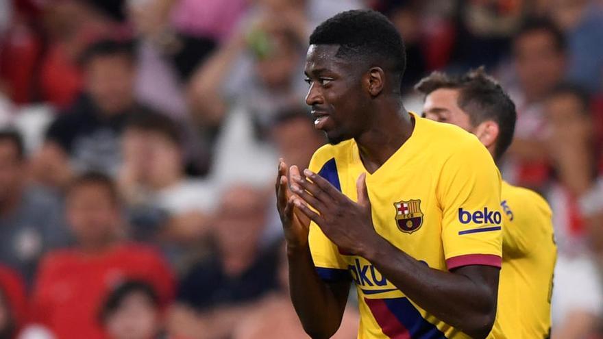 Dembélé recibe el alta y estará disponible contra el Bayern