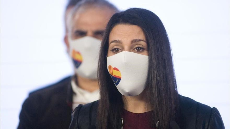 Arrimadas participará en la concentración contra los indultos en Barcelona