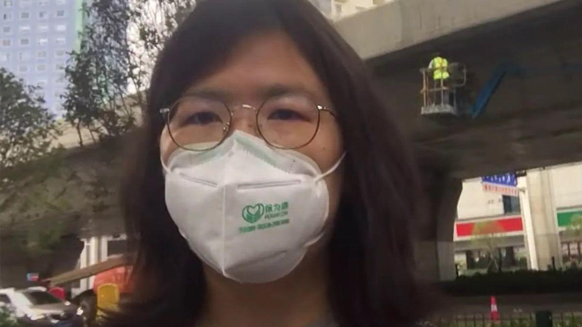 """Zhang Zhan, la """"periodista ciudadana"""" de Wuhan, que se enfrenta al poder en China"""