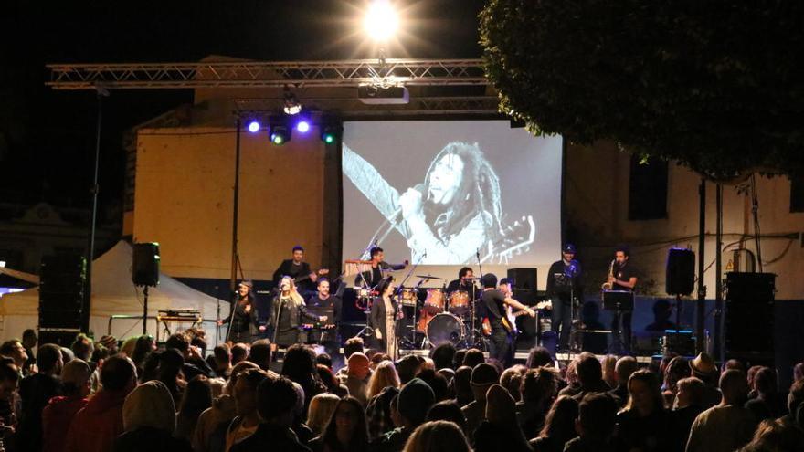 Bob Marley vive en el Reggae Can Festival de Playa de Mogán