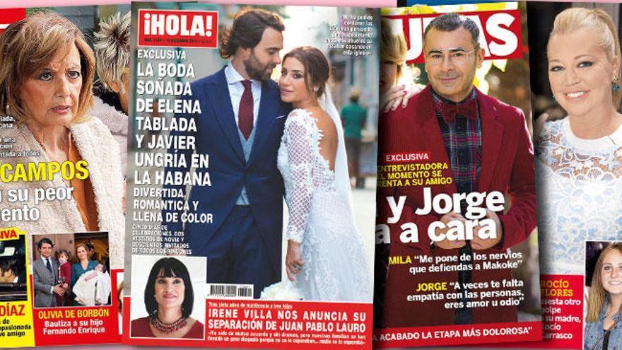 Irene Villa se separa y Belén Esteban ya tiene su vestido de novia