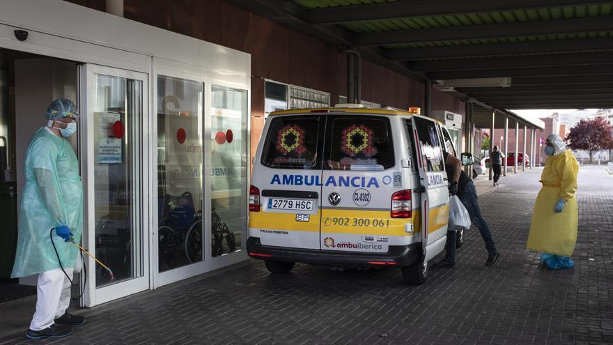 La tasa COVID de Zamora supera ya los mil casos en mayores de 65 años