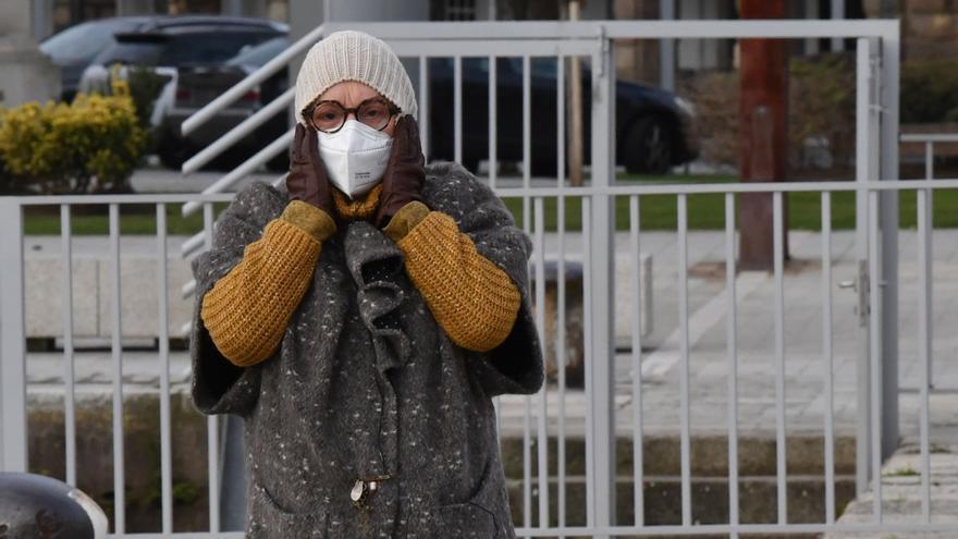 Los gallegos esquivan los 25 grados bajo cero de Teruel aunque Ourense supera los -11