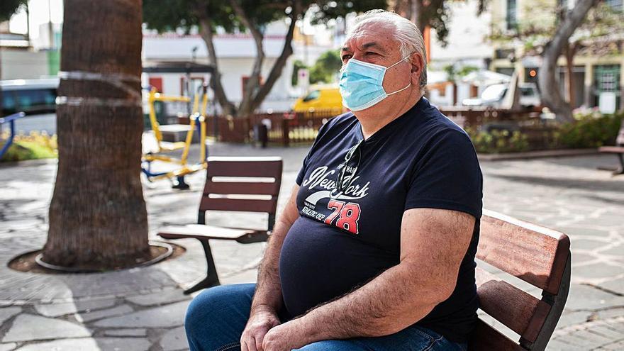 Un gallego que ha rehecho su vida en la Isla
