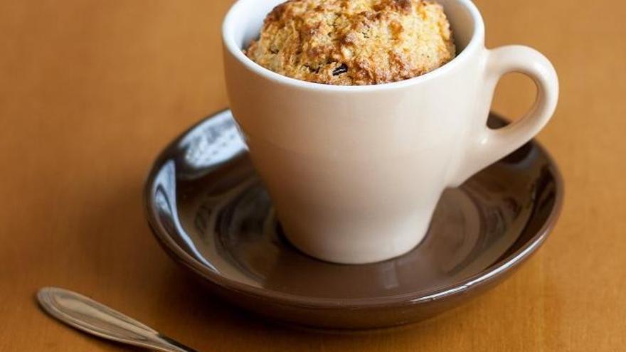 Mug Cake: bizcocho rápido en el microondas sin ensuciar la cocina