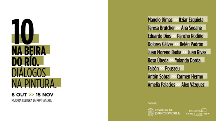 Visitas guiadas á exposición Na Beirado Río. Diálogos na pintura