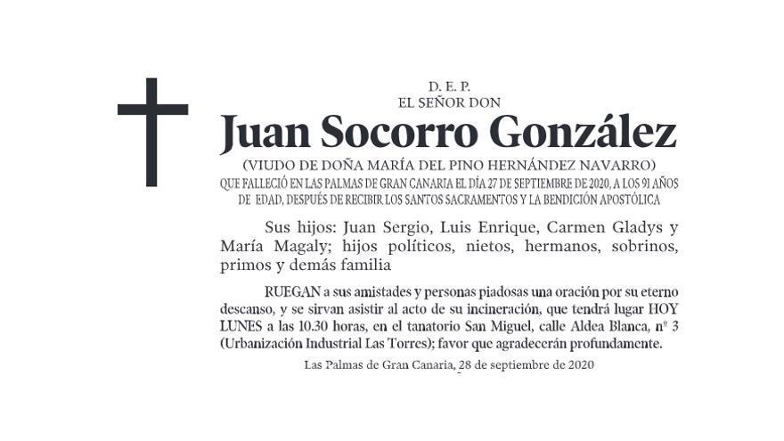Juan Socorro González