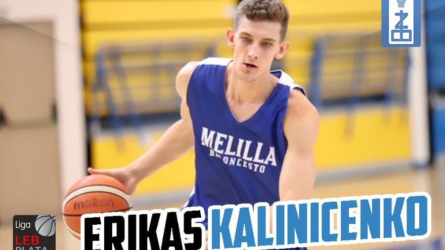 Erikas Kalinicenko, alero anotador para el CB Zamora