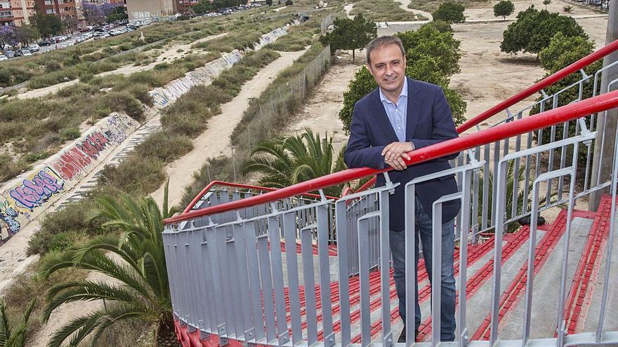 Natxo Bellido Suay: «La derecha no será la que transforme Alicante, es incapaz de imaginar una ciudad diferente»