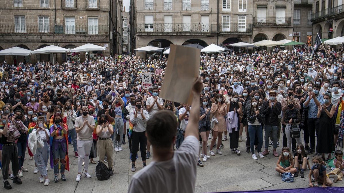 Concentración en Ourense
