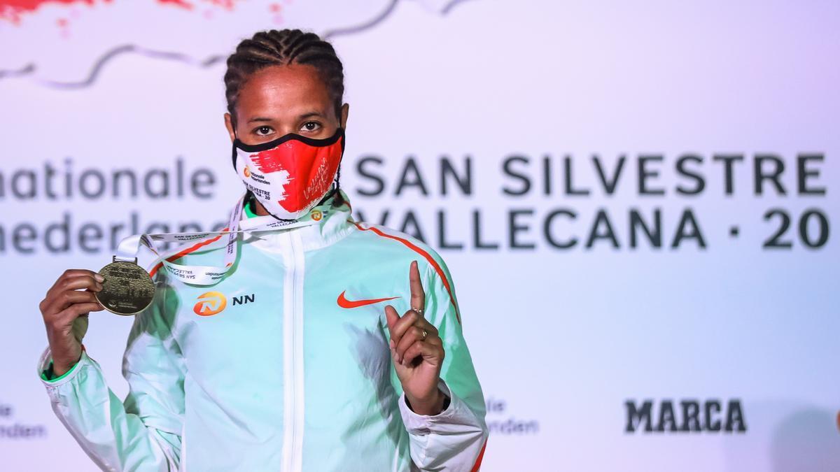 La etíope Yehualaw bate el récord mundial de medio maratón.