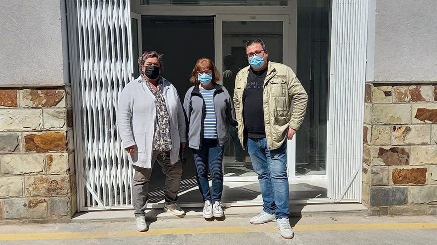 Gaibiel recupera el servicio de tienda después de tres años