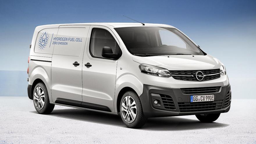 Opel Vivaro-e Hydrogen: una furgoneta eléctrica y de hidrógeno con más de 400 km de autonomía