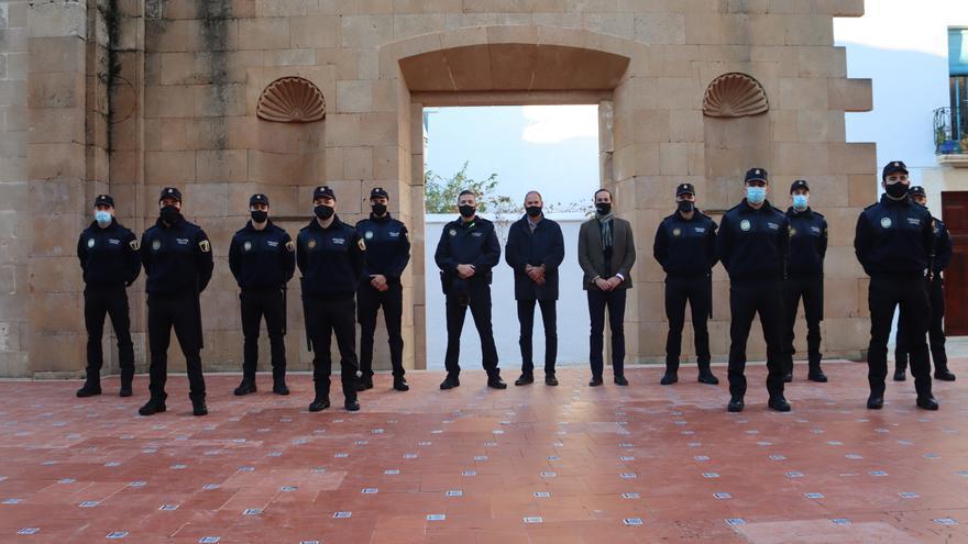 Benissa incorpora a 10 agentes de policía local