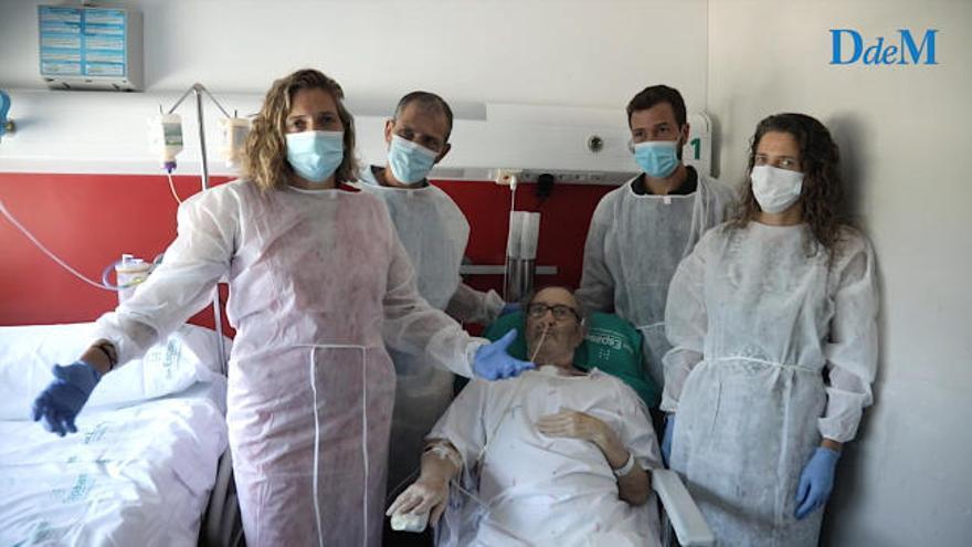 Sobrevivir al coronavirus tras 141 días en la UCI