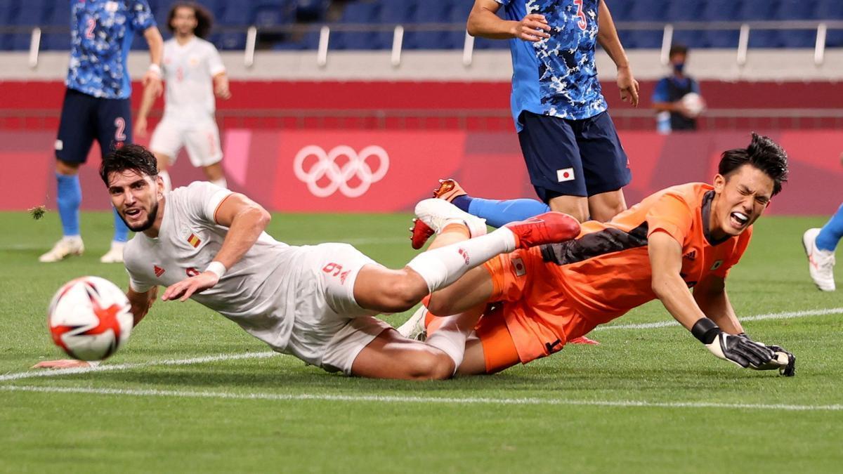 Tokio 2020, fútbol masculino: Japón - España
