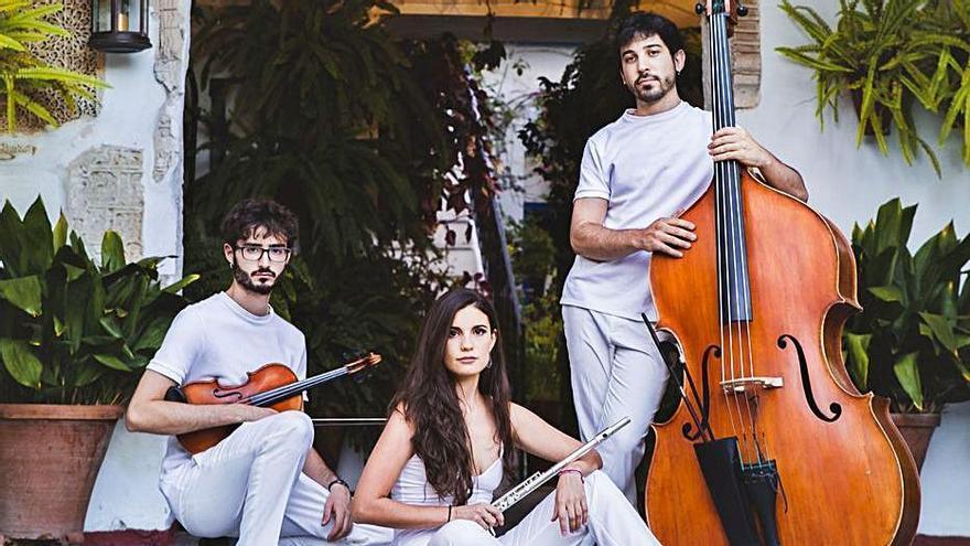 El grupo zamorano Vandalia Trío, en Televisión Española