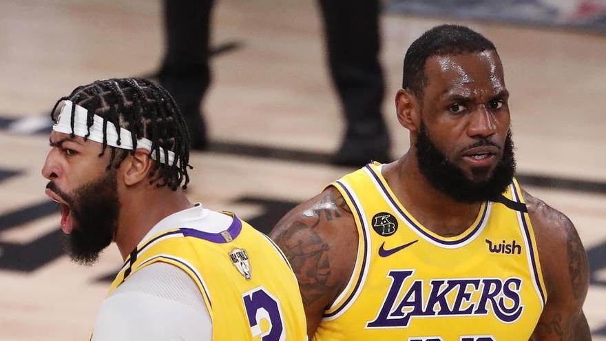 Unos arrolladores Lakers cogen ventaja ante los Heat