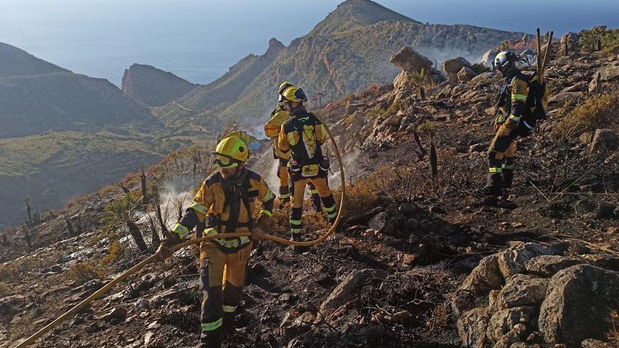 Nuevo incendio en el Coll de sa Gramola
