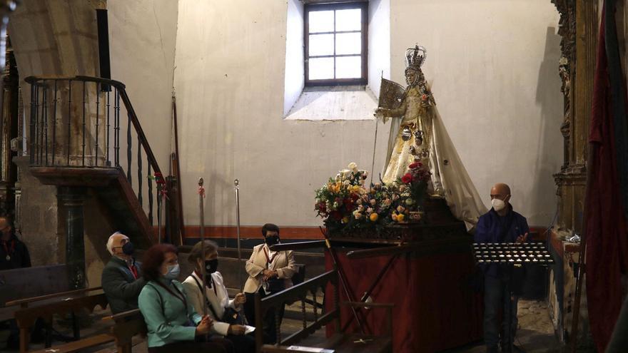 VÍDEO   Así suena el himno de La Concha en la iglesia de San Antolín de Zamora