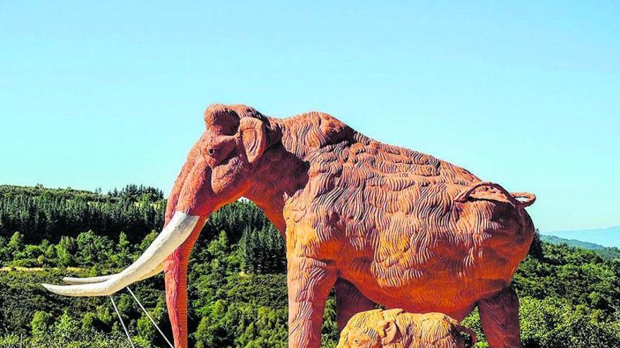 Un viaje para conocer la vida de los mamuts en Galicia