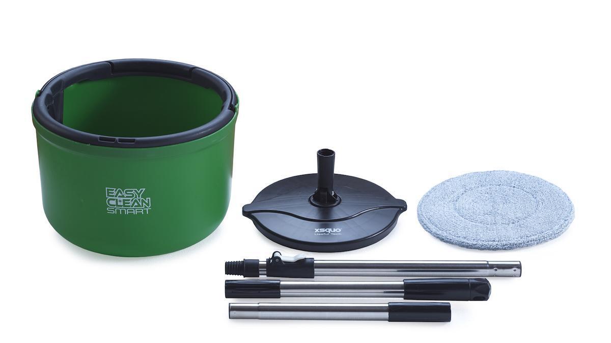 Spin Easy Clean Smart, compactay con mopa XXL, especial para suelosde parquet y de alto brillo.