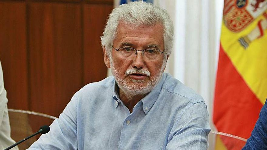 El vicepresidente de la Diputación de Ourense, Rosendo Fernández, en una imagen de archivo. // IÑAKI OSORIO