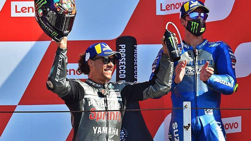 Morbidelli, Luca Marini y McPhee, vencedores en Misano