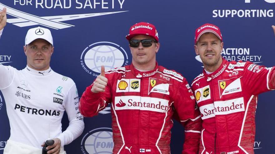 Raikkonen logra en Mónaco una 'pole' 9 años después