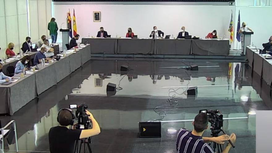 El pleno reivindica hoy ante la Diputación el Palacio de Congresos y la nueva sede de SUMA en Elche