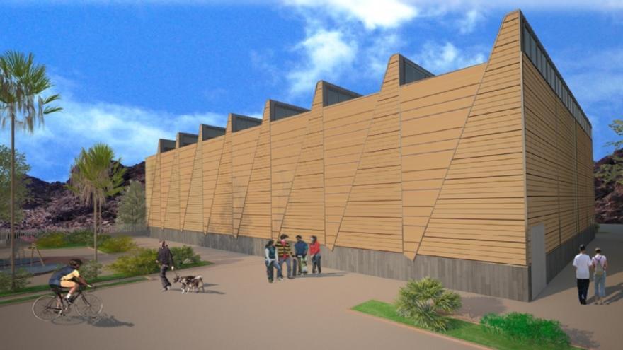Las inversiones prevén mejorar el recinto ferial de Nueva Espuña en Alhama