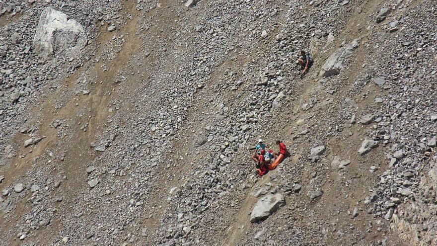 Senderistas inexpertos y sin equipación disparan los rescates de montaña