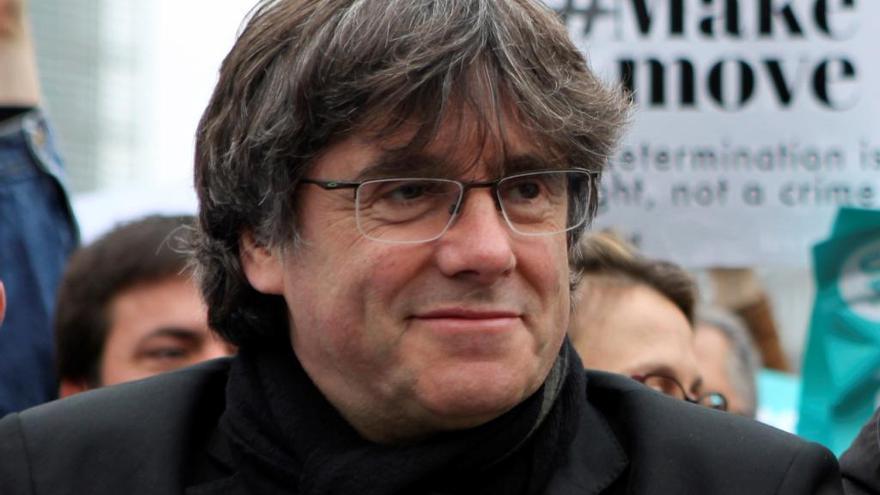 La Fiscalía, contraria a dejar sin efecto la orden de detención de Puigdemont