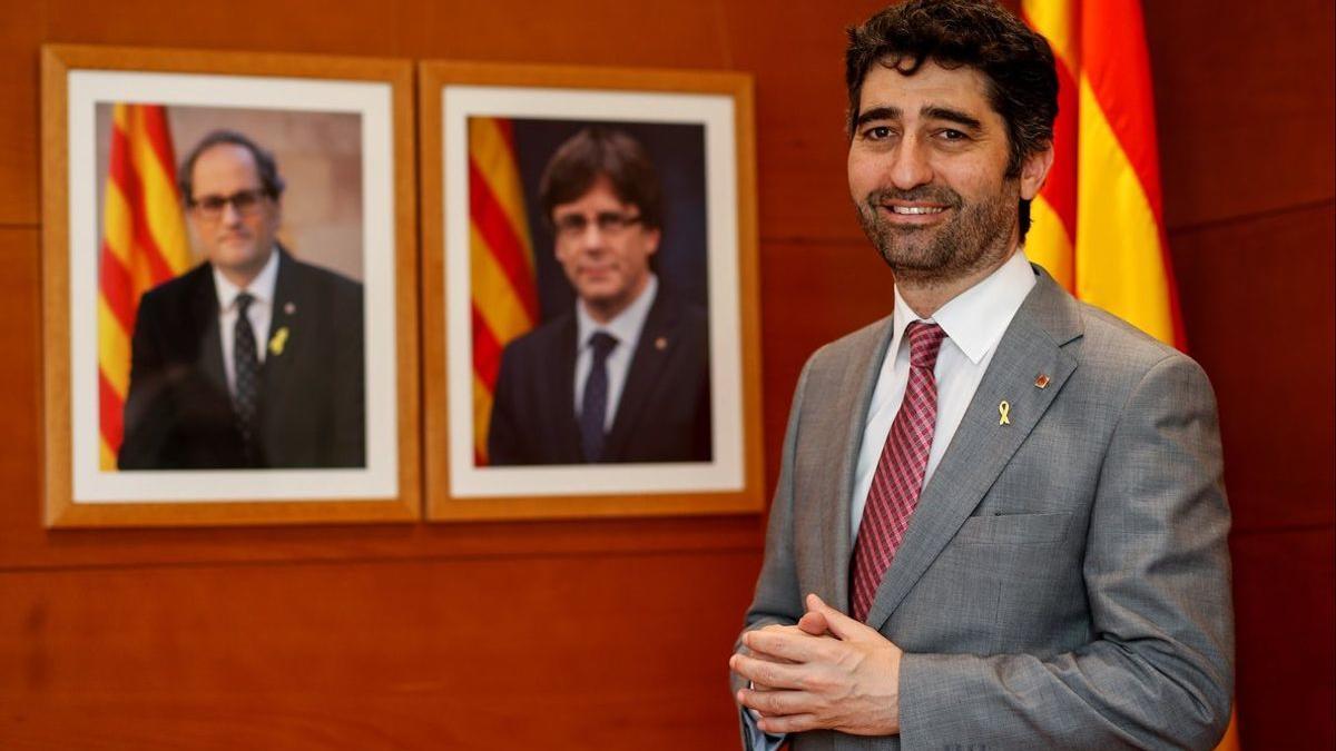 Jordi Puigneró en una imatge d'arxiu