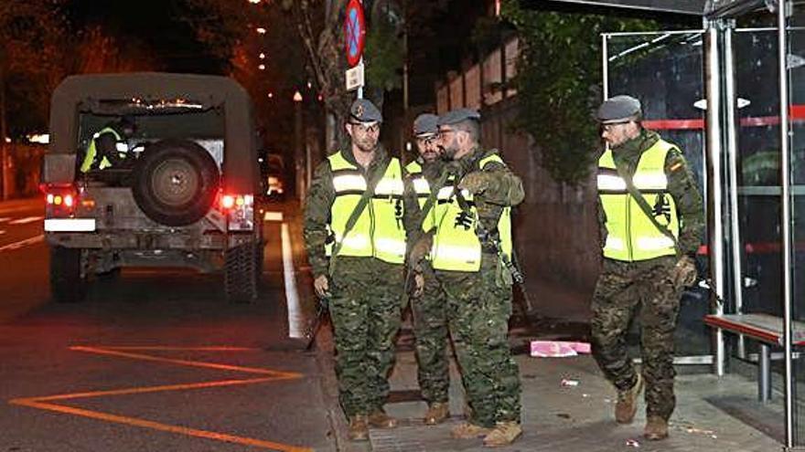 El Ejército entra en escena: la Brilat, en Vigo
