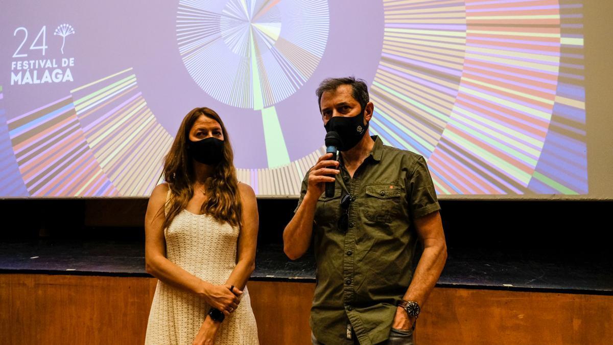 Roberto Lozano y Marta Arranz, director y productora de All the Souls