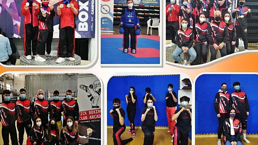 O Club Arcade logra 47 medallas no campionato galego