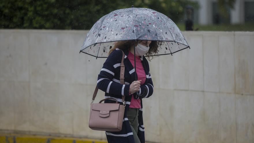 Las lluvias regresan a Málaga este fin de semana