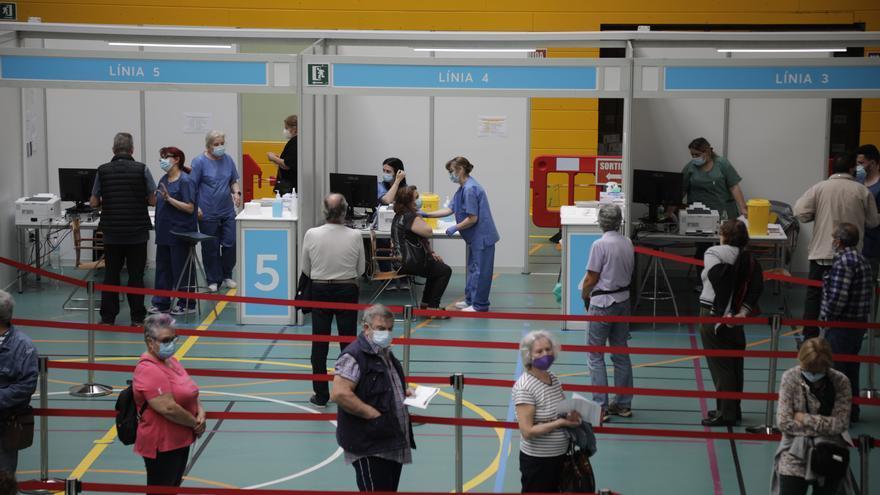 Baleares pone 15.000 vacunas en un solo día batiendo su récord