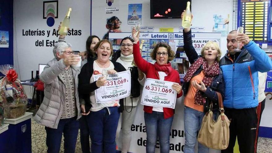 Las ganadoras de la Primitiva en Salvaterra cobrarán más de seis millones cada una