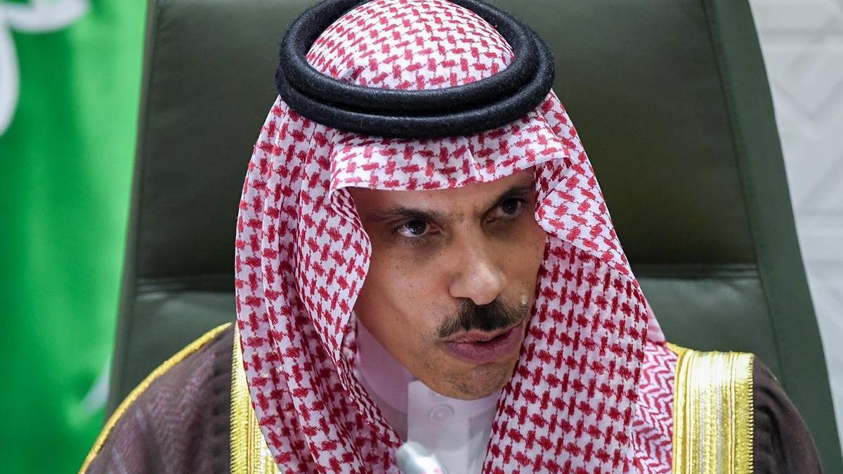 El ministro de Exteriores de Arabia Saudí, Faisal bin Farhan
