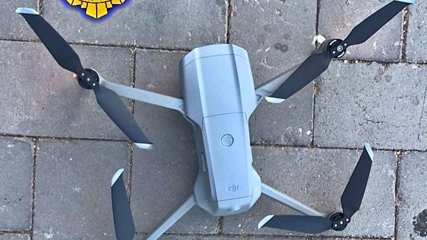 Denunciado por utilizar un dron en una zona prohibida
