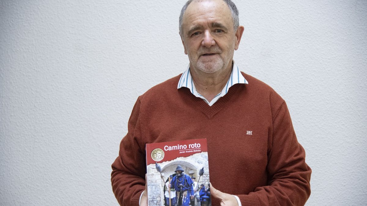Javier Andrés acaba de publicar 'Camino roto' (Trencatimons)